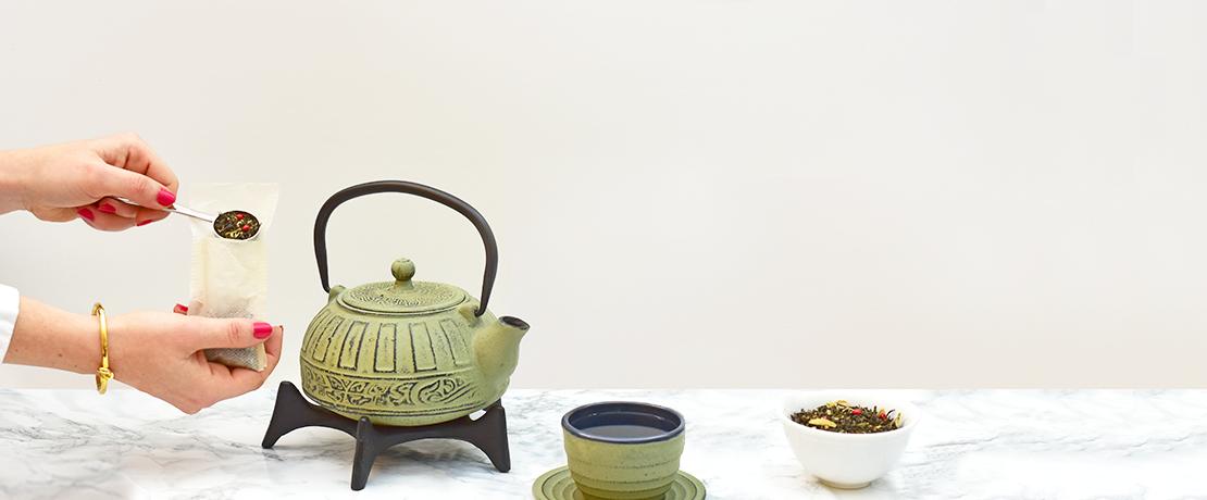 Savourer le thé
